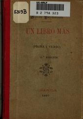 Un libro más: prosa y verso