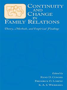 Continuity and Change in Family Relations PDF