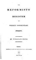 Proceedings against William Hone before his trials  Complete PDF
