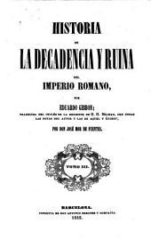 Historia de la decadencia y ruina del Imperio romano: Volumen 3