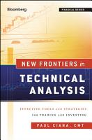 New Frontiers in Technical Analysis PDF
