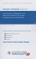 Navigate 2 Advantage Access for Introduction to Research and Medical Literature for Health Professionals PDF