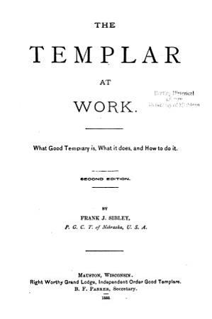 The Templar at Work PDF