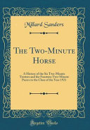 The Two-Minute Horse