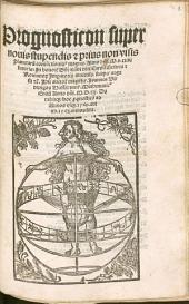 Prognosticon super novis stupendis et prius non visis planetarum coniunctionibus