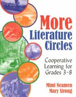 More Literature Circles PDF