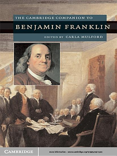 The Cambridge Companion to Benjamin Franklin PDF