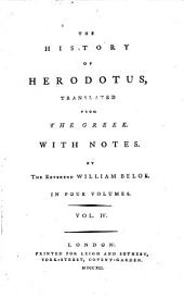 The History of Herodotus: Volume 4