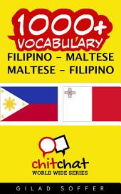 1000+ Filipino - Maltese Maltese - Filipino Vocabulary