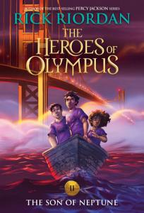 Heroes of Olympus  The Son of Neptune Book