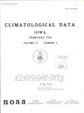 Climatological data: Iowa, 第 95 卷,第 2 期
