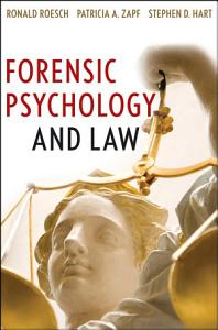 Forensic Psychology and Law Book