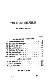 Le bossu: Aventures de cape et d'épée. Collection Hetzel, Volume 1