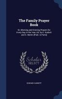 The Family Prayer Book PDF