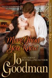 More Than You Know (The Hamilton Family Series, Book 1)