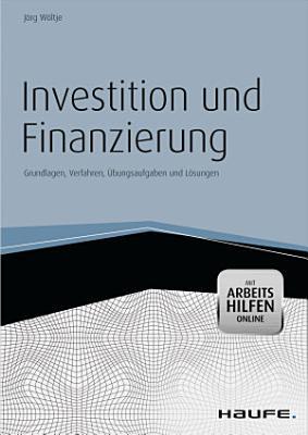 Investition Und Finanzierung Mit Arbeitshilfen Online