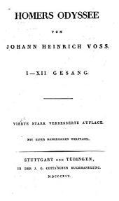 Odyssee von J.H. Voss: Teile 3-4