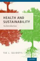 Health and Sustainability PDF