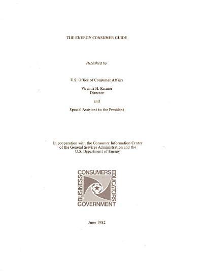The Energy Consumer Guide PDF
