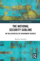 The National Security Sublime PDF