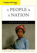 Cengage Advantage Books  A People and a Nation  A History of the United States