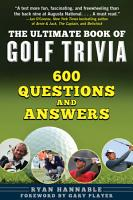 The Ultimate Book of Golf Trivia PDF
