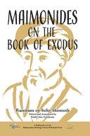 Maimonides on the Book of Exodus