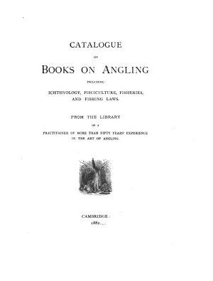 Catalogue of Books on Angling PDF