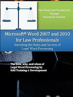 Microsoft Word 2007 and 2010 for Law Professionals PDF