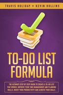 To Do List Formula PDF