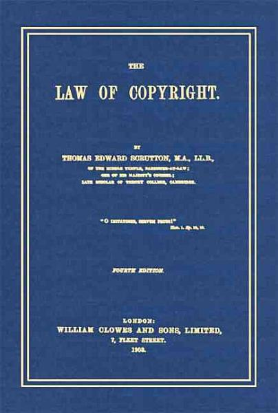 Download The Law of Copyright Book
