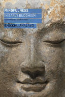 Mindfulness in Early Buddhism PDF