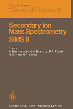 Secondary Ion Mass Spectrometry SIMS II PDF