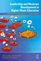 Leadership and Musician Development in Higher Music Education PDF