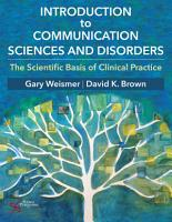 Introduction to Communication Sciences and Disorders PDF
