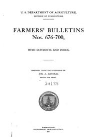 Farmers' Bulletin: Issues 676-700