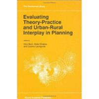 Evaluating Theory Practice and Urban Rural Interplay in Planning PDF