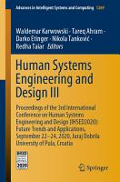 Human Systems Engineering and Design III PDF