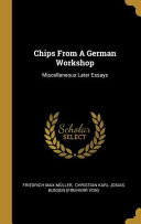 Chips From A German Workshop PDF