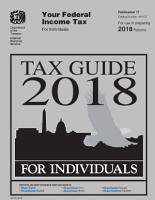 Tax Guide 2018   Federal Income Tax For Individuals  Publication 17  Includes Form 1040   Tax Return for 2019   Clarifications on Maximum Capital Gain Rate   Chapter 20    Updated Jan 16  2020 PDF
