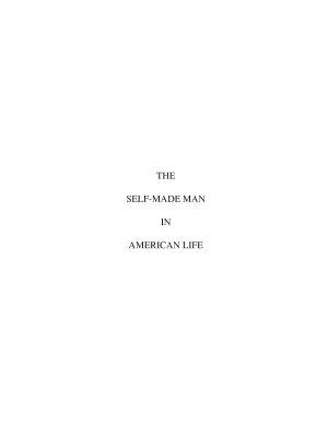 The self made man in American life PDF