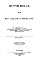 Expository Discourses on the First Epistle of the Apostle Peter PDF