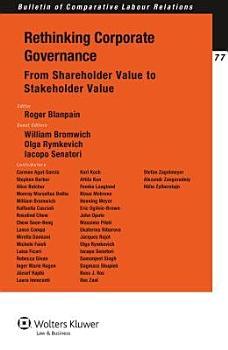 Rethinking Corporate Governance PDF