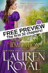 The Art of Temptation: Free Preview — The First 32 Chapters (Regency Chase Family Series)