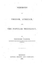 Sermons of Theism, Atheism, and the Popular Theology