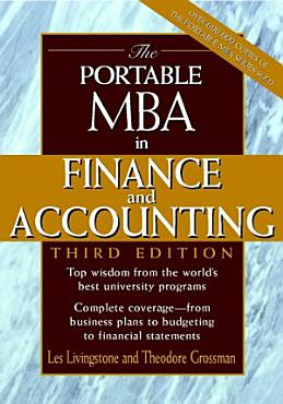The Portable MBA in Finance and Accounting PDF
