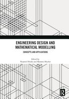 Engineering Design and Mathematical Modelling PDF