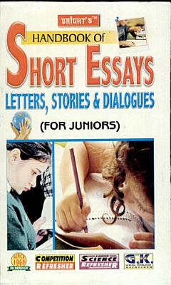 Hand book of Essays  Letters  Stories   Dialogues PDF
