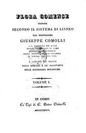 Flora Comense disposta secondo il sistema di Linneo: Volume 11