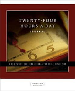 Twenty Four Hours a Day Journal Book